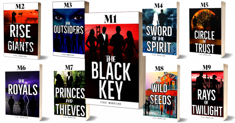 Series book covers white borders